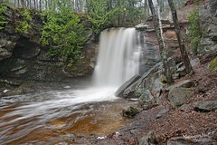 Hungarian Falls Michigan's Keweenaw Peninsula by Michigan Nut