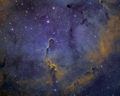 The Elephants Nebula - Tonemapped version by Mick Hyde