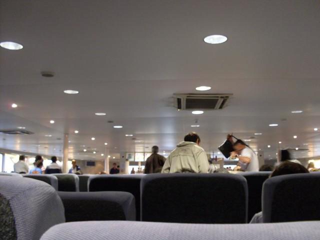 interior del buquebus
