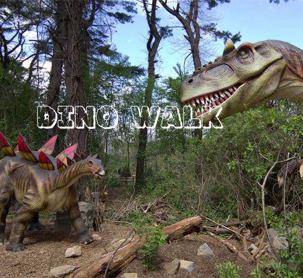 Animatronic恐龙道具作为教育支柱