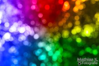 Farbige Dots