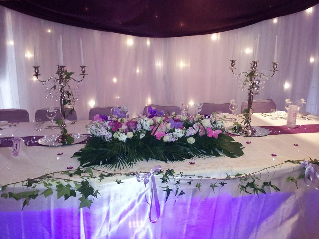 Decoration de mariage decoration florale mariage salle mariage decoratrice - Deco florale mariage ...