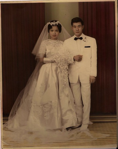 mom wedding picture
