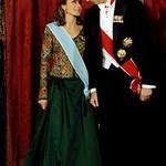 S.S.A.A.R.R. Los Principes Felipe y Letizia, principes de Asturias.