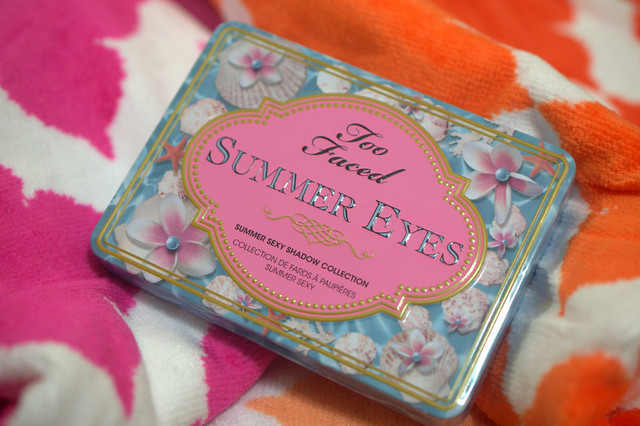 Too Faced Summer Eye 2013 Summer Sexy Shadow Collection