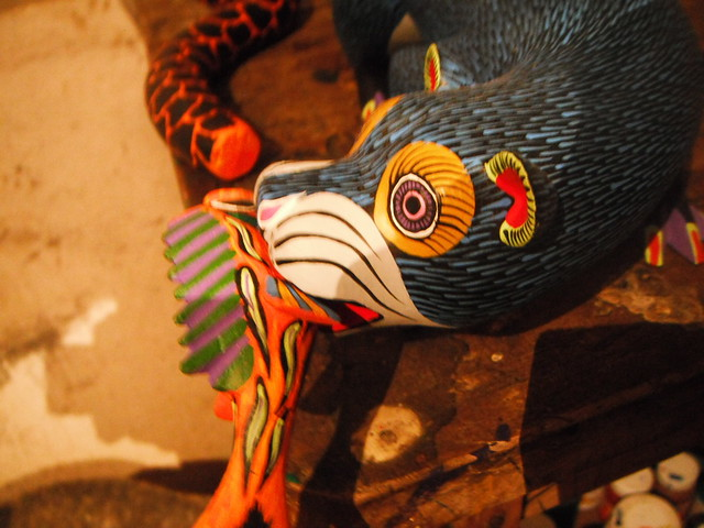 Header of Alebrije