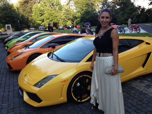 Italian Embassy Hosts VIP Fashion for Charity & Showcases Lamborghinis
