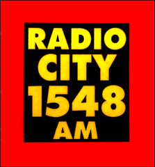 early Radio City car sticker