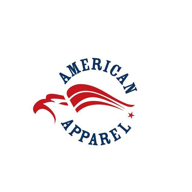 american apparel logo flickr photo sharing