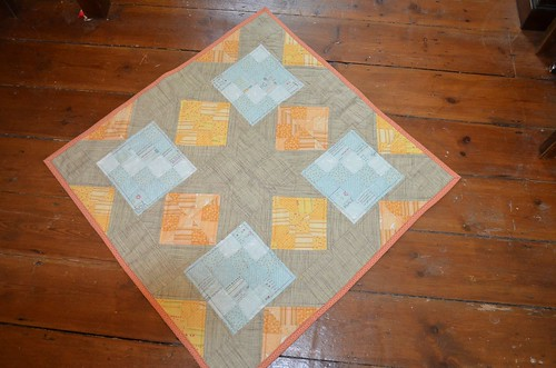 James' quilt - made by Reene
