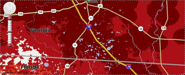 Verizon coverage map (bottom)