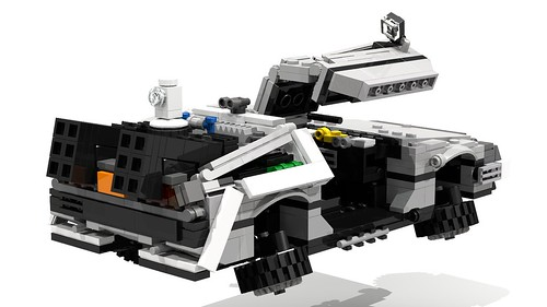 LEGO Back To The Future DeLorean Time Machine (BTTF 2)