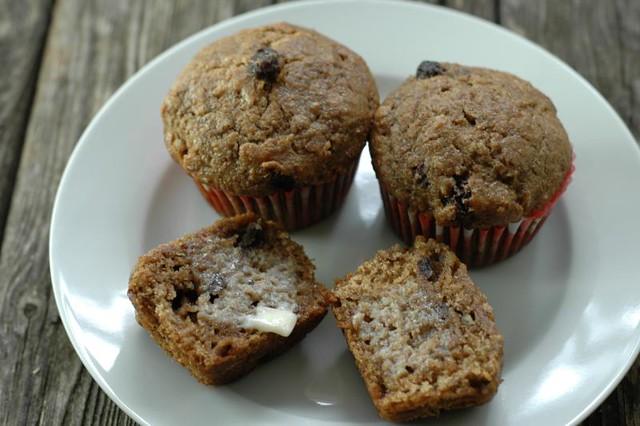 healthy bran muffin
