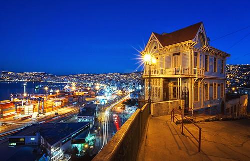 智利 - Casa Cuatro Vientos - Valparaíso - Chile