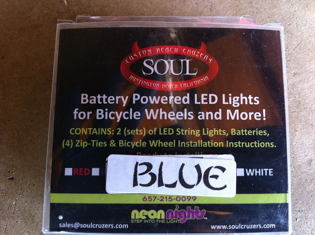 soul cruzer LED lights