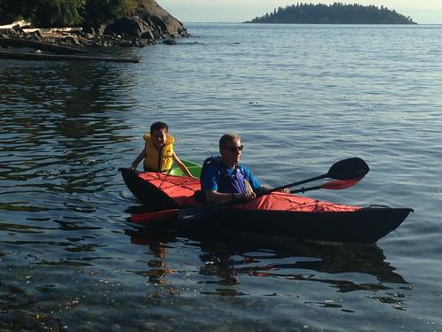 Kayaking with Scott