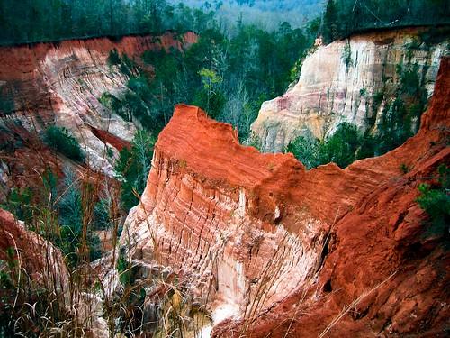 color georgia sandstone unitedstatesofamerica geology providencecanyon