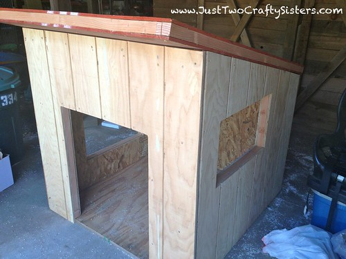 Awesome insulated dog house