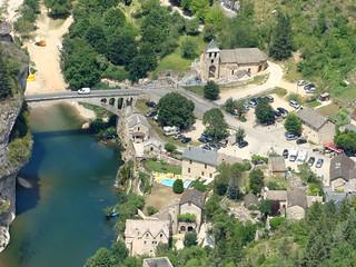 22 Saint Chely du Tarn uitzichtpunt