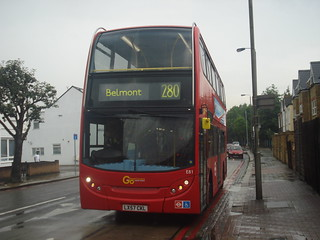 London General E81 on Route 280, Tooting