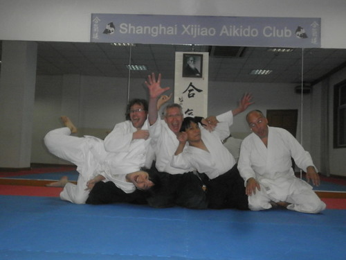 At Xijiao Aikido club - fun