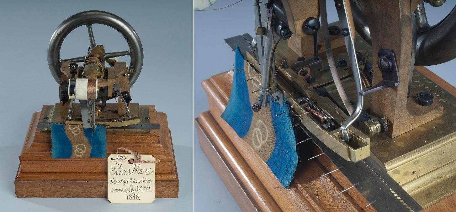 1846 sewing machine