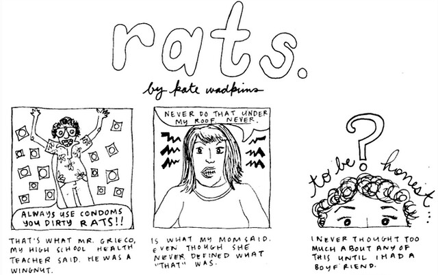 "comic is called ""rats"""