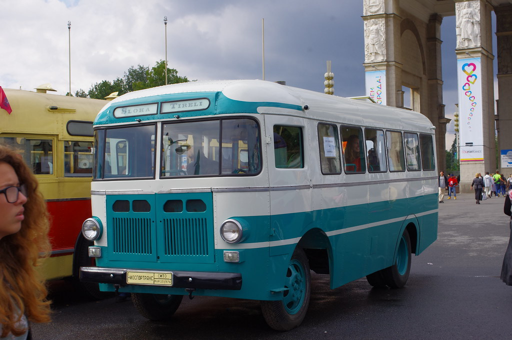 Moscow museum bus RAF