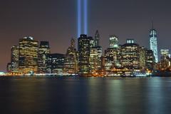 9/11 tribute lights, 2013