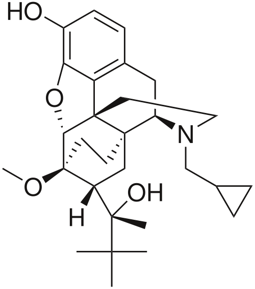 buprenorphine chemical structure