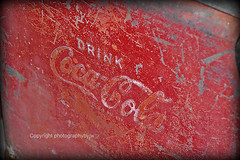 Drink Coca Cola from a Rusty Old Cooler