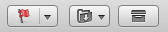 OS X Mail toolbar