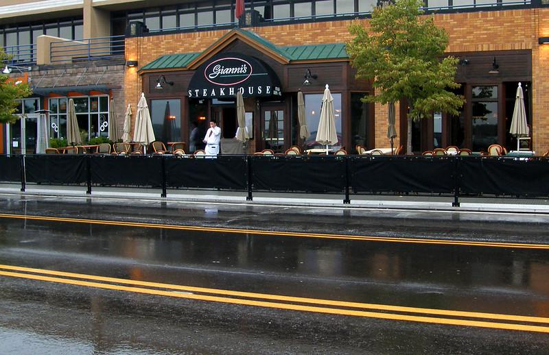 Gianni's and rain