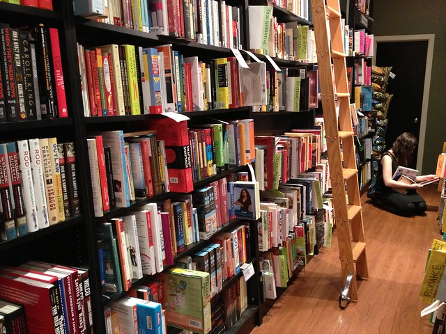 bookstore bookshelves