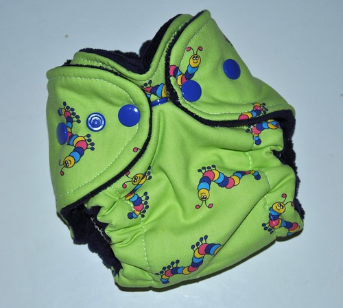 Bumstoppers Newborn Inchworm  Hybrid fitted  CV {old style}