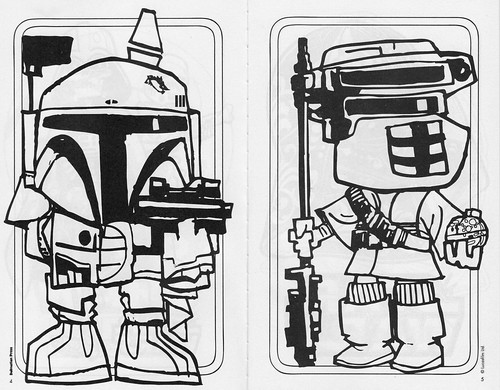 Star Wars Halloween Play Pack - Fett & Boushh
