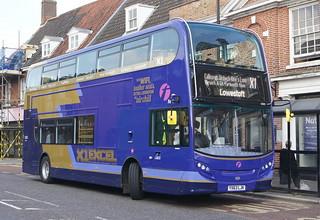First East England (King's Lynn) 33805 YX63LJK © David Bell
