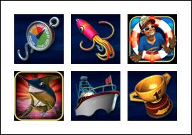 free Wild Catch slot game symbols