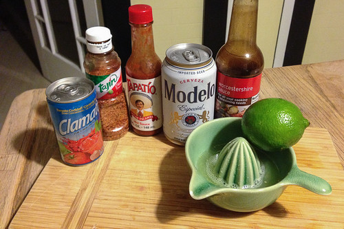 The michelada ingredients | An Authentic Mexican Michelada Recipe