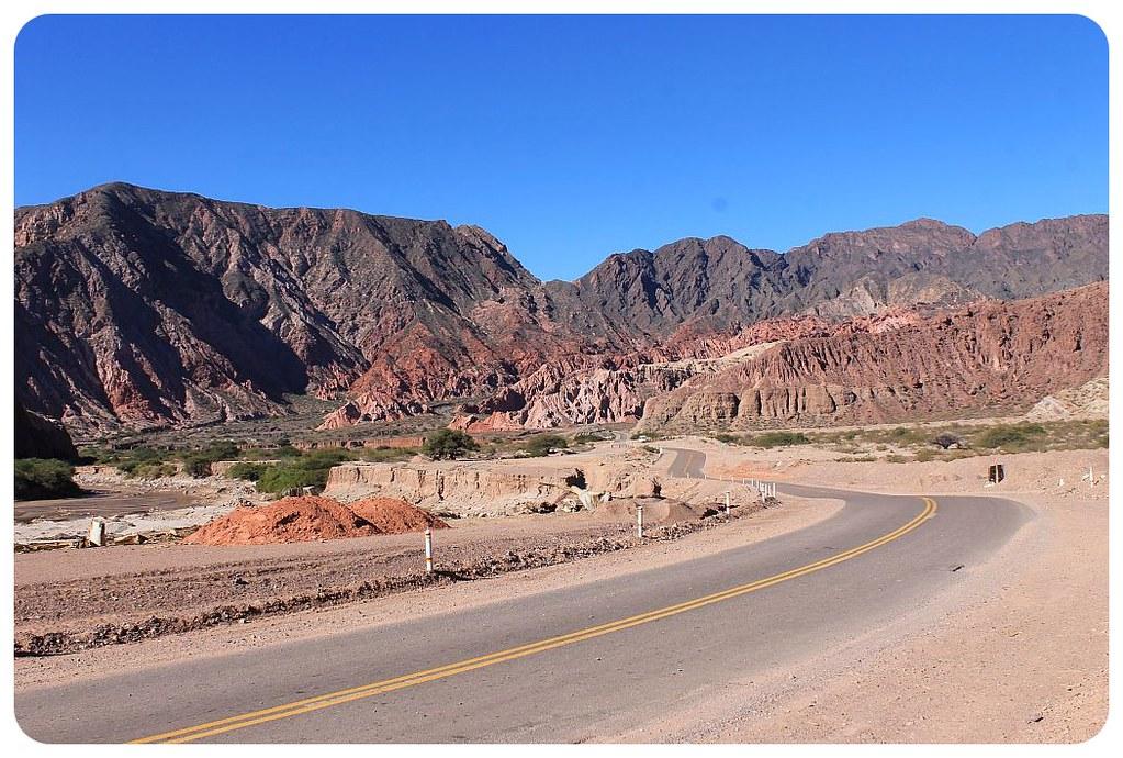 28 quebrada de las conchas road argentina