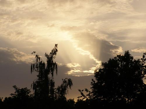 sunset sky sun beautiful walk poland polska polen spacer słońce zachód słońca niebo