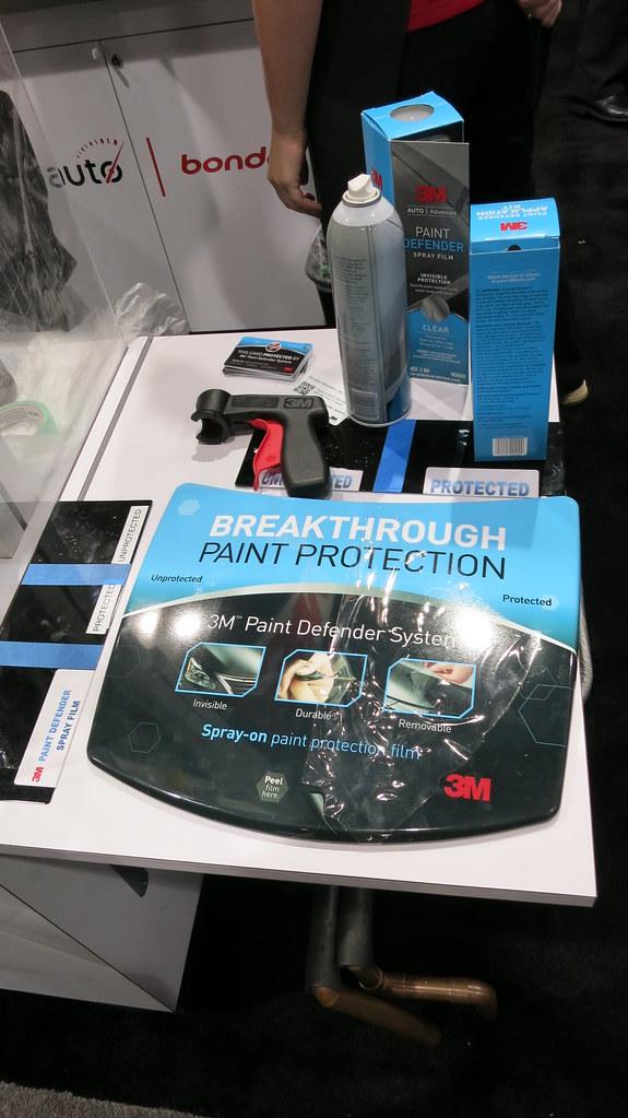 SEMA Show Day 2 - 3M Paint Defender