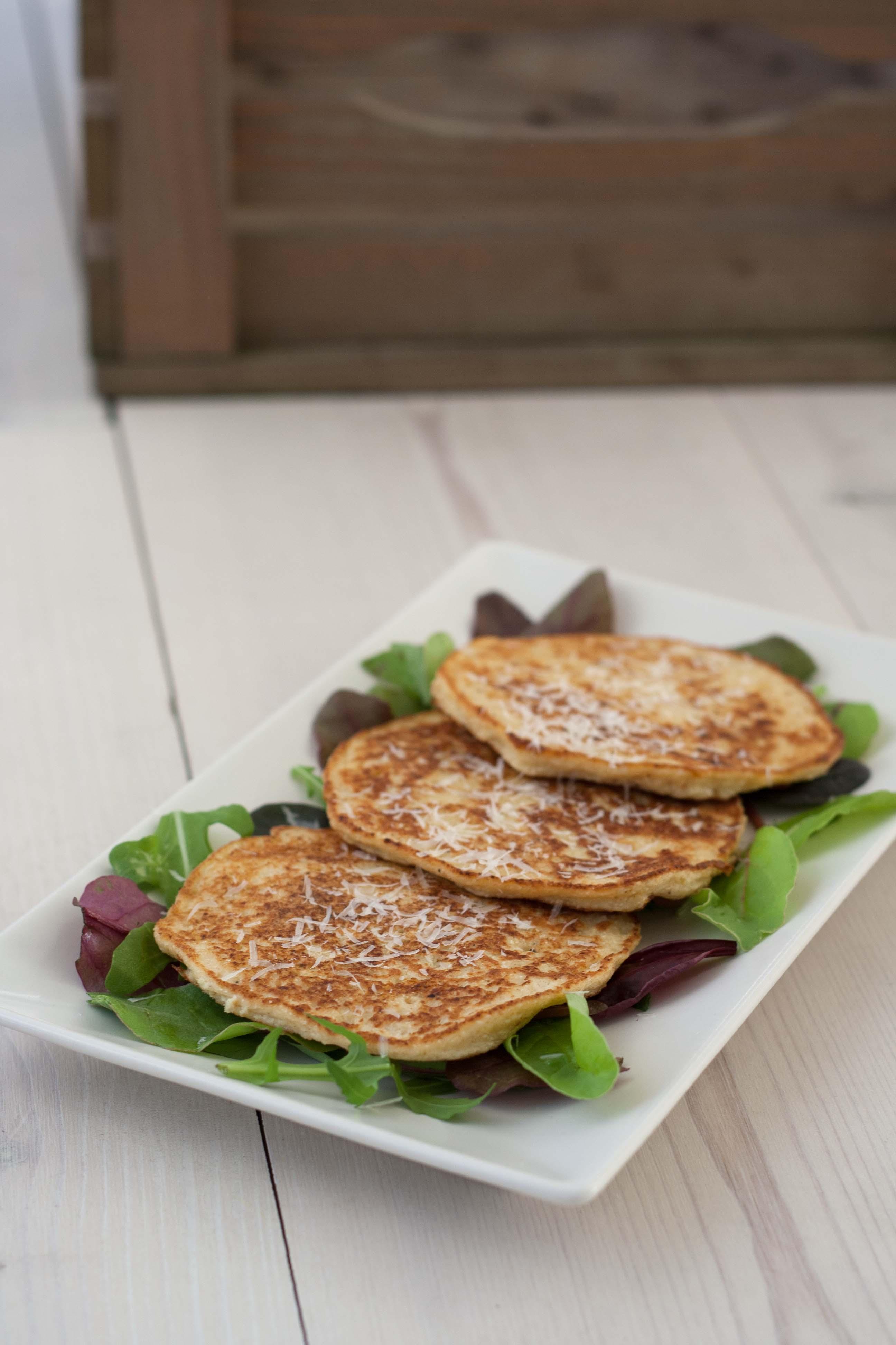 homemade Cauliflower Pancakes