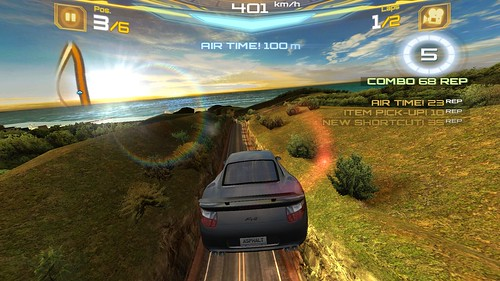 เกม Asphalt 7: Heat บน HTC Butterfly S