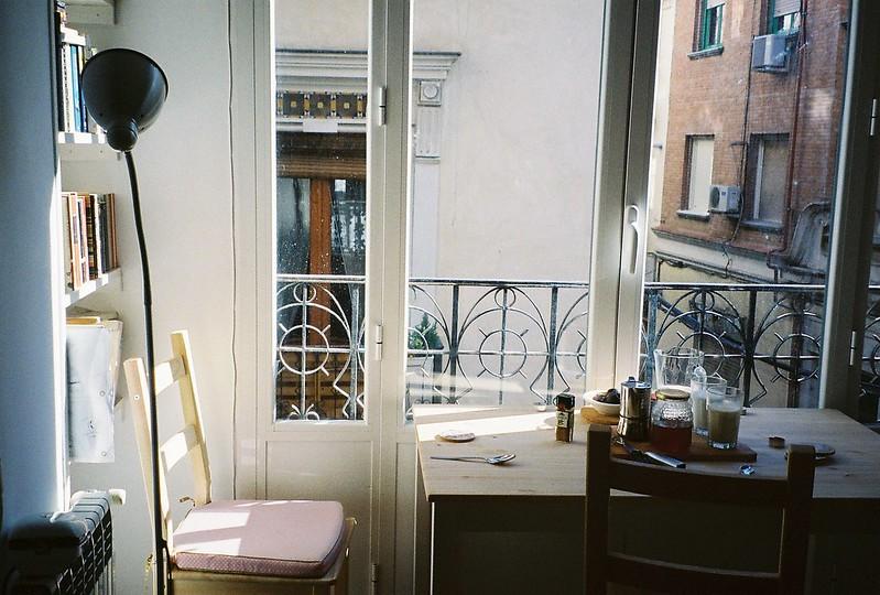 dining room corner