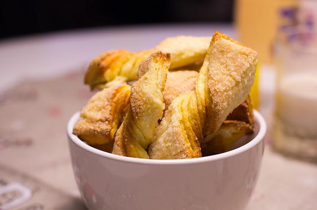 Kihilised keeruküpsised Küpsisevahetuseks / Twisted cookies for Cookie Swap