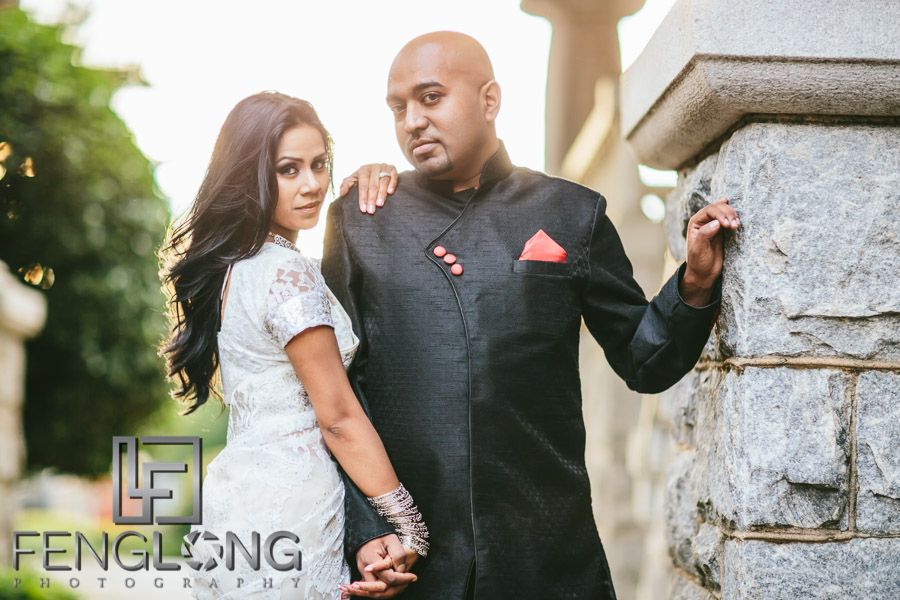 Serana & Saifur Engagement Session | Rhodes Hall & Centennial Olympic Park | Atlanta Bangladeshi Wedding Photography