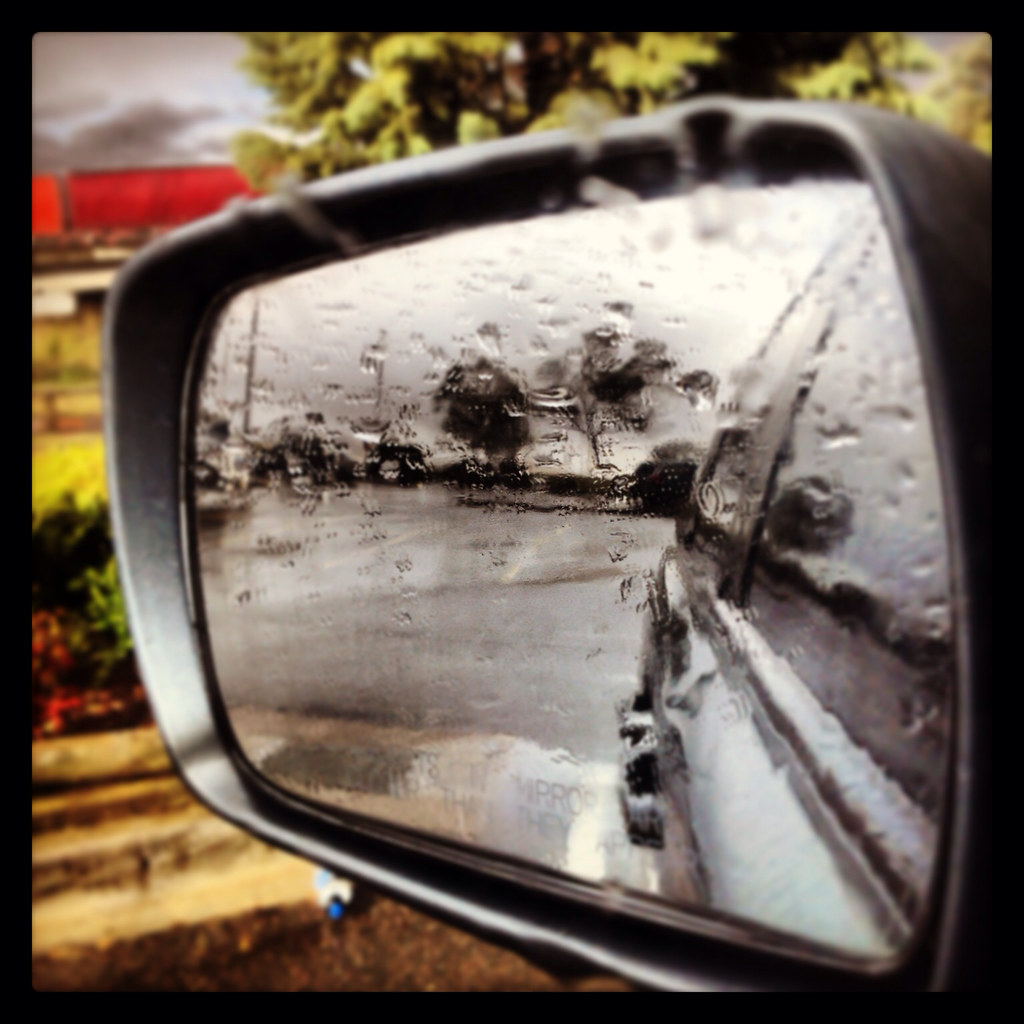 Declan's photo from out the car window at Goulburn (edited on Instagram)