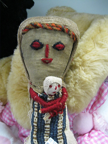 Creepy doll, creepier snowman