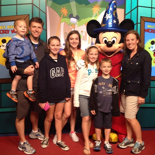 Of course we met Mickey!!